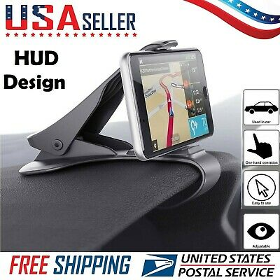 Universal Car HUD Dashboard Mount Holder Stand Bracket Mobile Cell Phone GPS US
