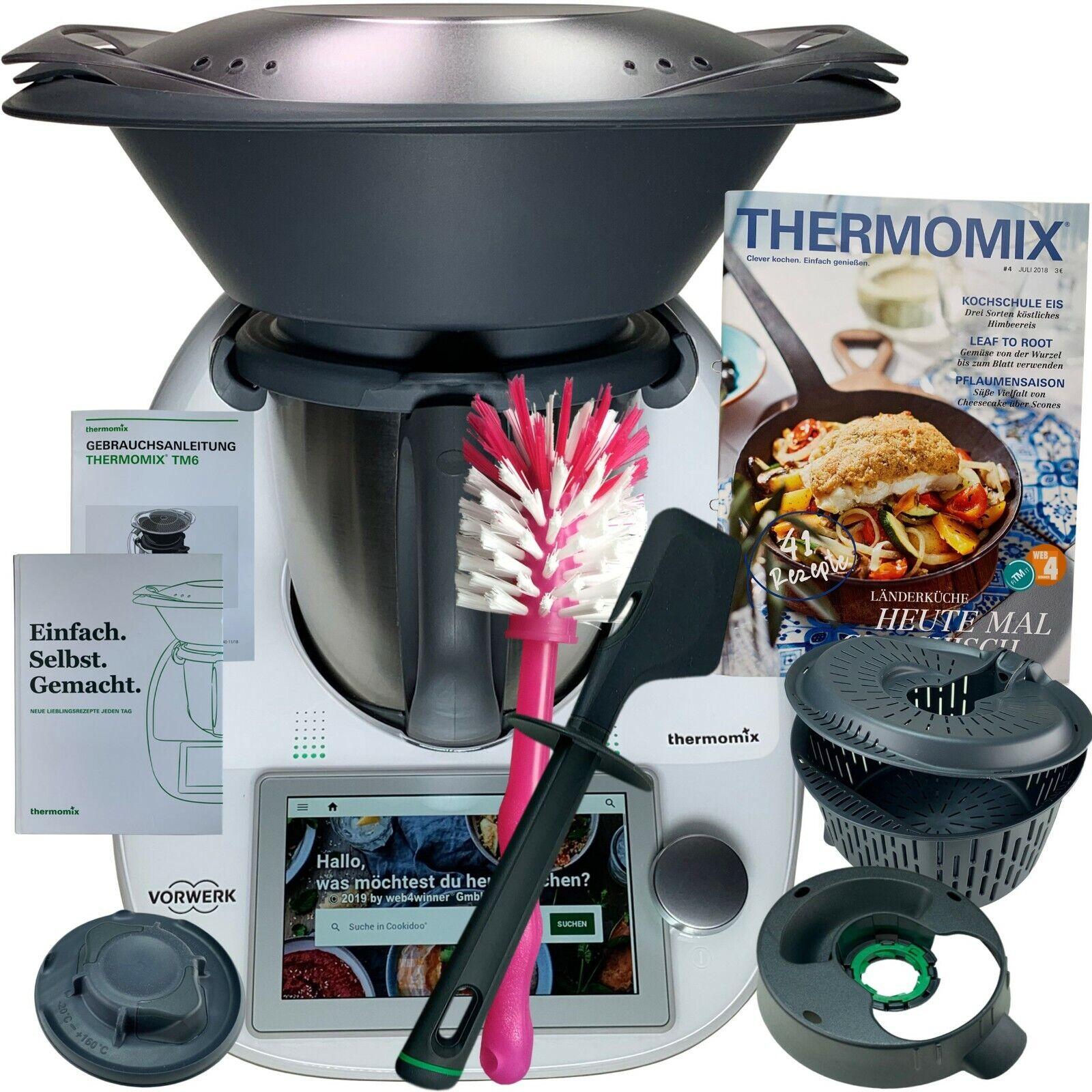 Vorwerk Thermomix TM6 *COOKIDOO®* Zubehör Kochbuch Bürste NEU OVP TM 6 WLAN TOP