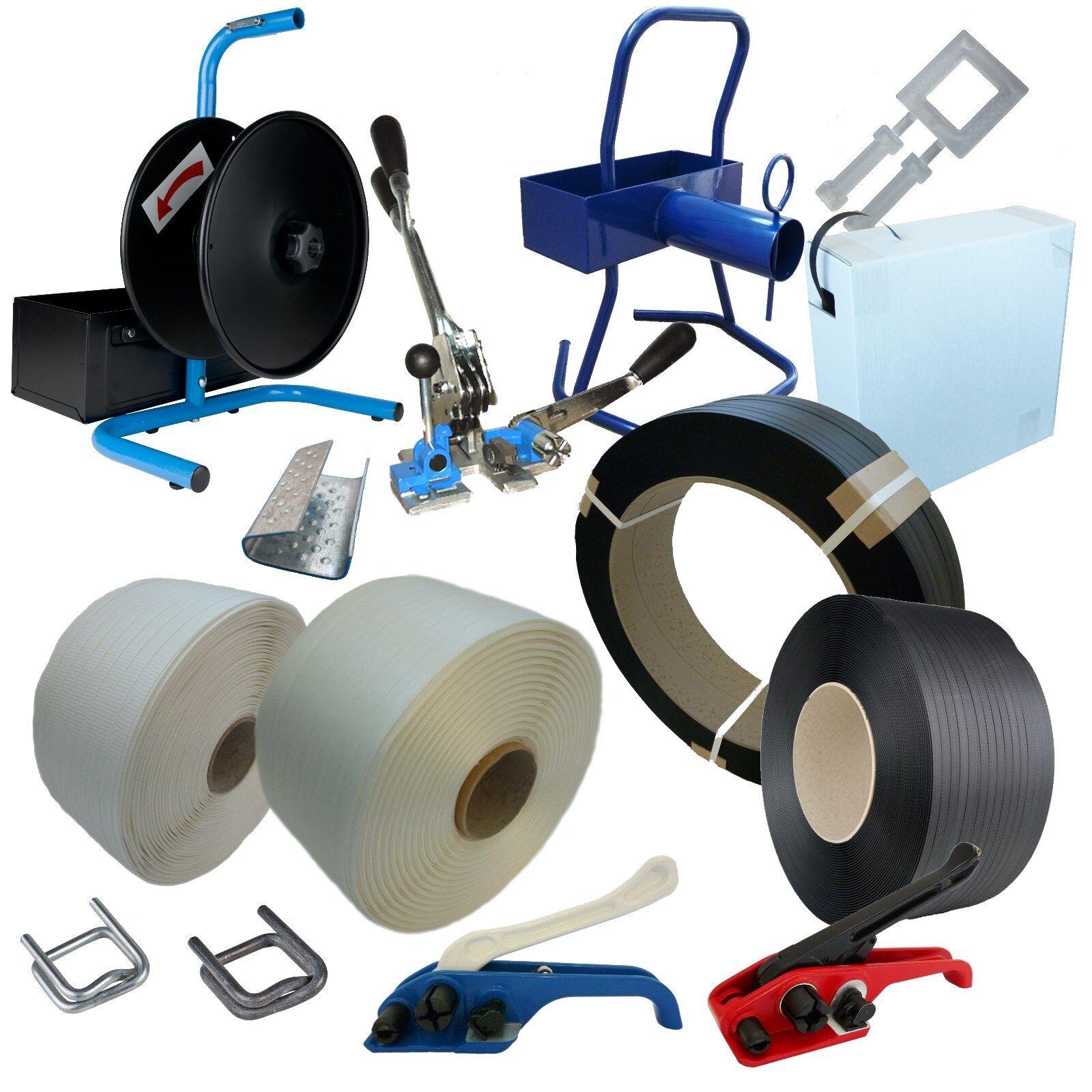 Textil Umreifungsband -PP -gewebt Abrollgerät Bandspanner Klemmen