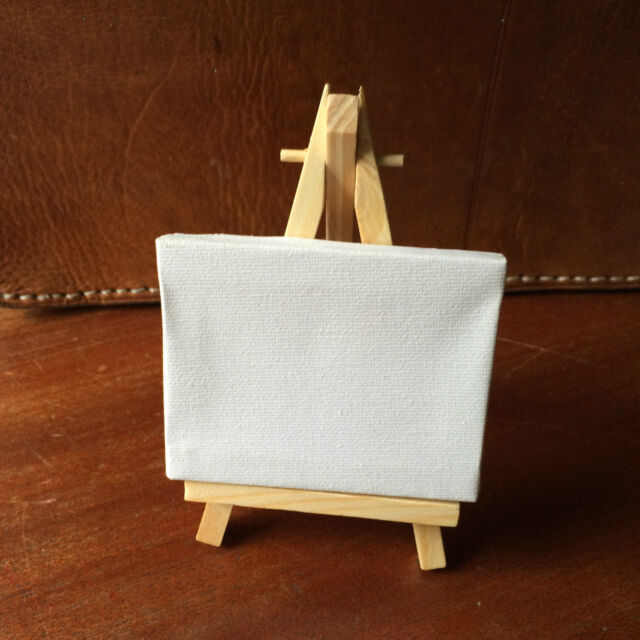 Artist Easel Wood Tripod Table top Display drawing sketching 5½ inch 14cm tall