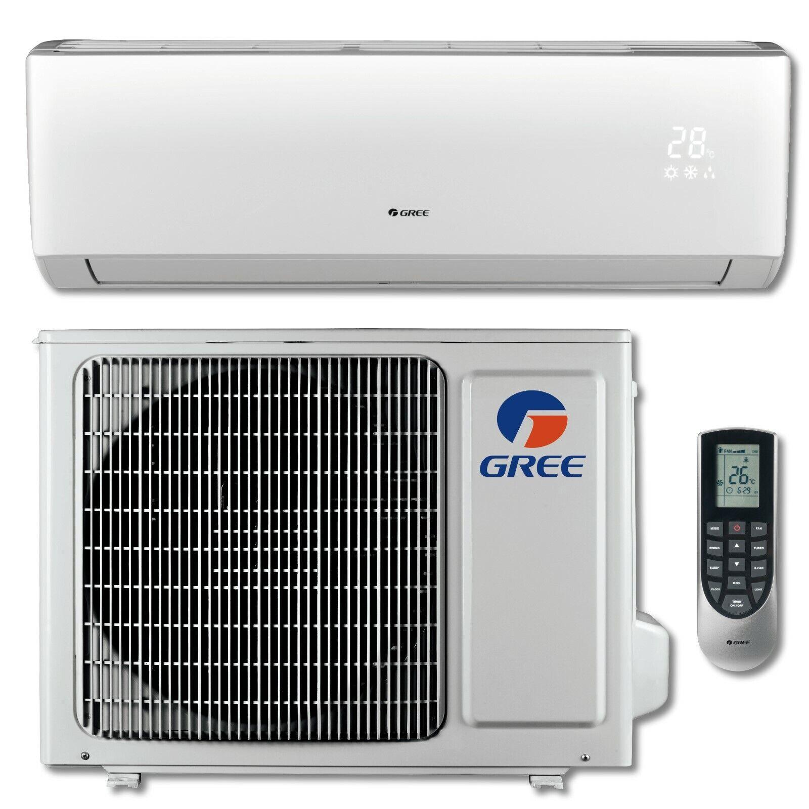 NEW GREE LIVO+ 12,000 BTU Ductless Mini Split Air Conditione
