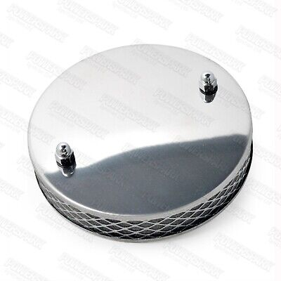 Pancake High Air Flow Chrome Air Filter For SU HS2 1¼ Inch Carburettor