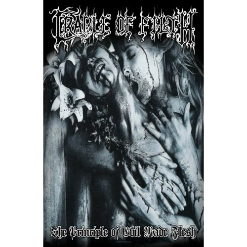 Cradle Of Filth The Principle Of Evil Made Flesh Tapestry Cloth Poster Banner