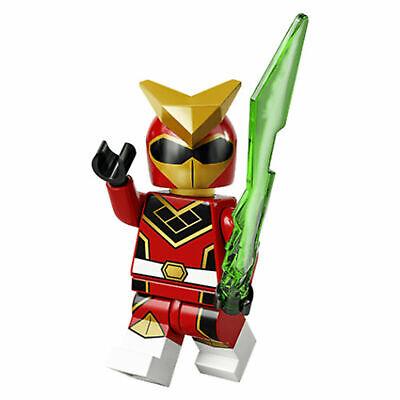 Lego Series 20 Minifigures Super Warrior Red Power Ranger Robot 71027