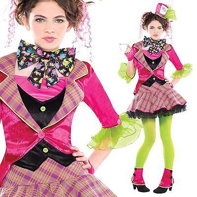 Petite Mad Hatter Party Alice Im Wunderland Hut Buchwoche Verkleidung von - Mad Alice Im Wunderland Kostüm