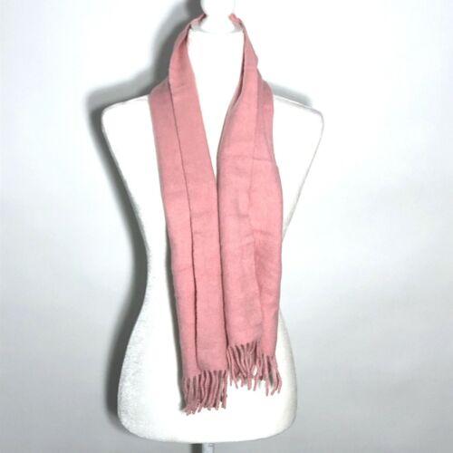 Nordstrom Vintage 100% Cashmere Pink Scarf