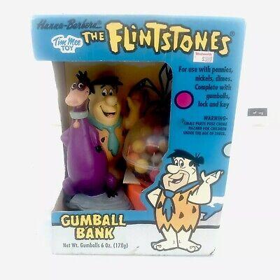 Tim Mee Vintage Flintstones Fred Dino Gumball Machine Bank Woolworths