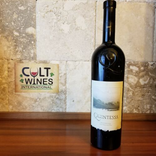 WS 95 pts! 2007 Quintessa Bordeaux Blend wine, Rutherford