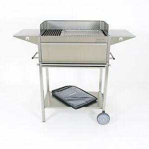 edelstahlgrill holzkohlegrill grill bbq holzkohle. Black Bedroom Furniture Sets. Home Design Ideas