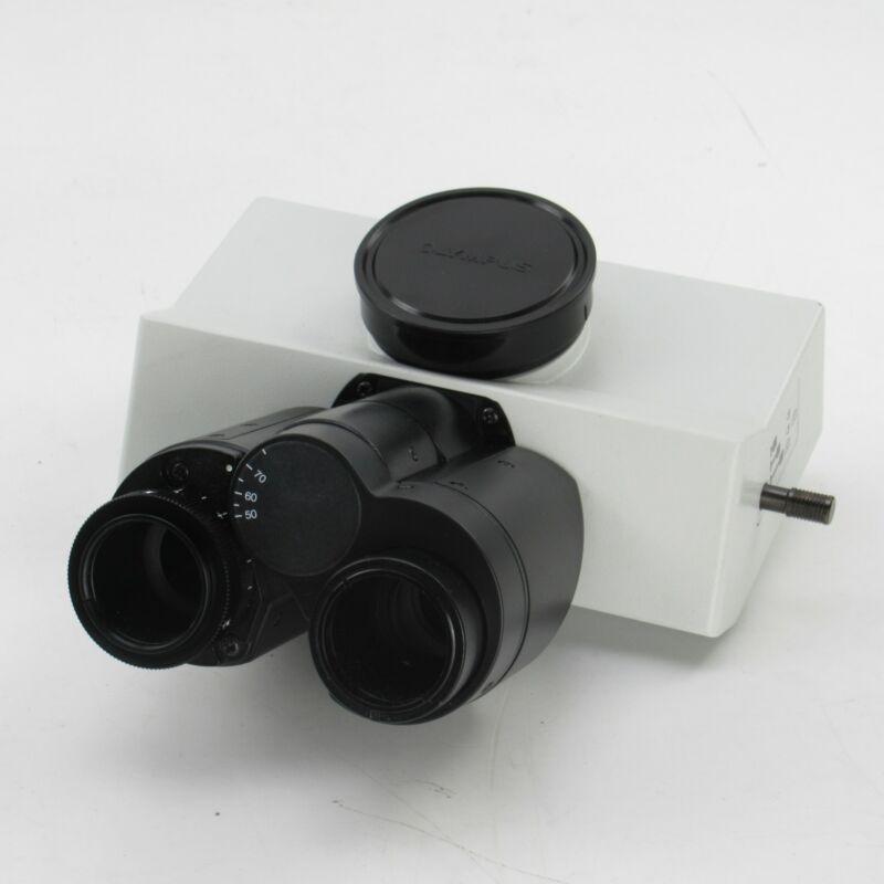 OLYMPUS U-TR30-2 TRINOCULAR CAMERA PORT MICROSCOPE HEAD FOR BX SERIES