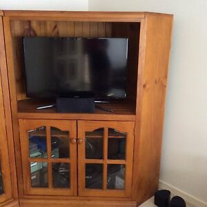Corner entertainment unit Oak Park Moreland Area Preview