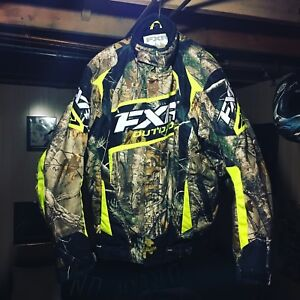 Fxr racing jacket helix