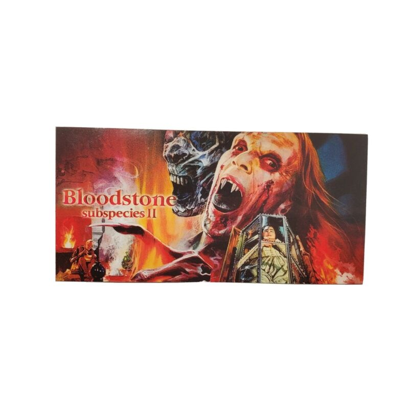 Charles Band Full Moon Features Direct Movie Promo Sticker Rare Bloodstone