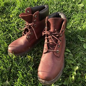 Timberland leather winter boots size 7