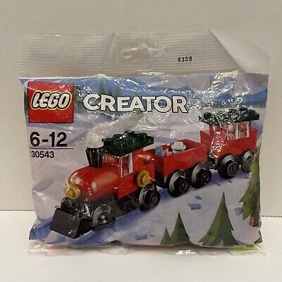 """LEGO Holiday & Event CHRISTMAS TRAIN (30543) """"NEW in Sealed Polybag"""""""