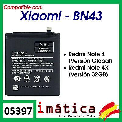 BATERIA BN43 PARA XIAOMI REDMI NOTE 4X 32 GB / 4 GLOBAL...