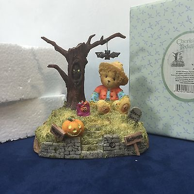 Cherished Teddies Halloween is a Boo-tiful Thing 119912 Fall Enesco Vintage