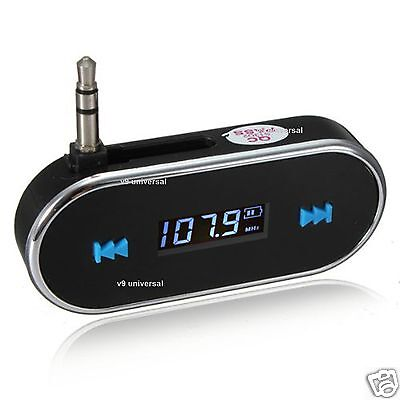 Wireless FM Transmitter MP3 Player Car Kit Charger for iPhone 6 5S 5C