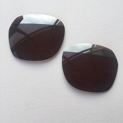 Police Neymar Jr 1 52x20 col N33H Brown Sun Lenses Silver Mirror Split BRAND NEW