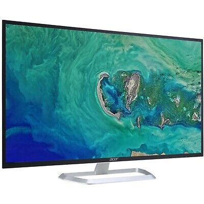 "Acer 31.5"" LED Computer Monitor EB321HQ Abi HDMI VGA 16:9 Full HD 1920x1080p"