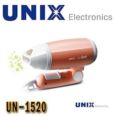 UNIX Dryers Hair Dryer Zeropa Anion Generating SystemCool Button un-1520