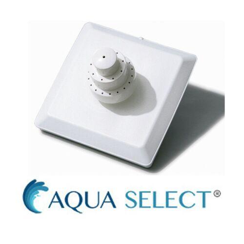 Aqua Select Grecian Floating Triple Tier Swimming Pool Fountain, White
