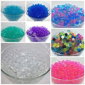Green water aqua soil crystal bio gel ball beads wedding for Diy bio balls