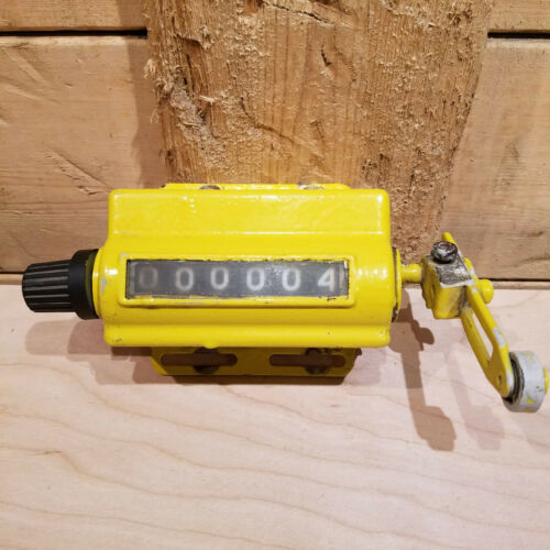 Mechanical Tally Counter Analog Lever Knob Vintage Mountable - Swanky Barn