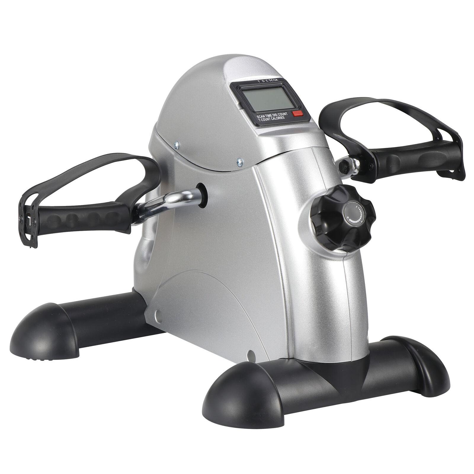 Health Fitness Bike Pedal Exerciser Under Desk Elliptical w/ 8 Levels Resistance 1