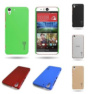 Smooth Hard Rubber Plastic  Matte Back Cover Slim Phone  Case for HTC Desire Eye