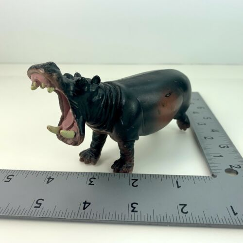 Terra by Battat ROARING HIPPOPOTAMUS Figure Wildlife Animal