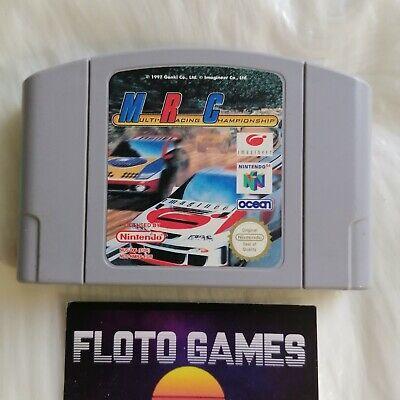 Jeu MRC Multi Racing Championship pour Nintendo 64 N64 PAL FR - Floto Games