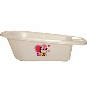 minnie mouse baby bath tub for newborn 12 months anti slip 0 3 6 rrp 25 ebay. Black Bedroom Furniture Sets. Home Design Ideas