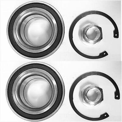 Front Wheel Hub Bearing Kits For BMW 325Xi 328 330 335 525 528 530 535Xi PAIR