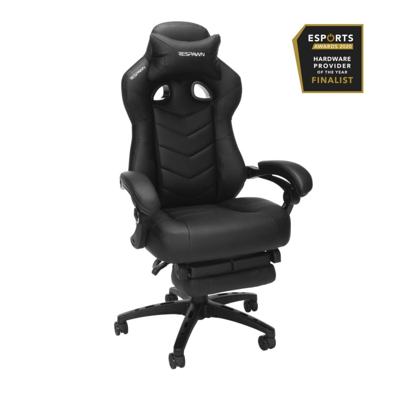 Gaming Chai RESPAWN, Reclining Ergonomic Chair with Built-in