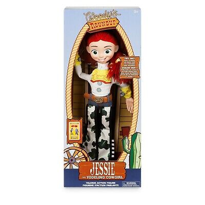 Toy Story Jessie Deluxe Talking Action Figure Doll Official Disney Store 40cm](Buzz Lightyear Female)