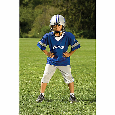 YOUTH SMALL Detroit Lions NFL UNIFORM SET Kid Game Day Jersey Costume Age 4-6 Detroit Lions Youth Uniform