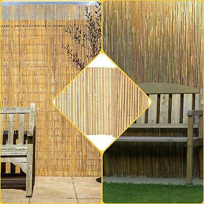 2M X 4M Garden Bamboo Slat Fencing Privacy Screen Roll Outdoor Panel Screening L
