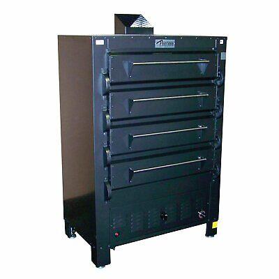 Peerless 2348b 50 Gas Bake Oven Four Deck