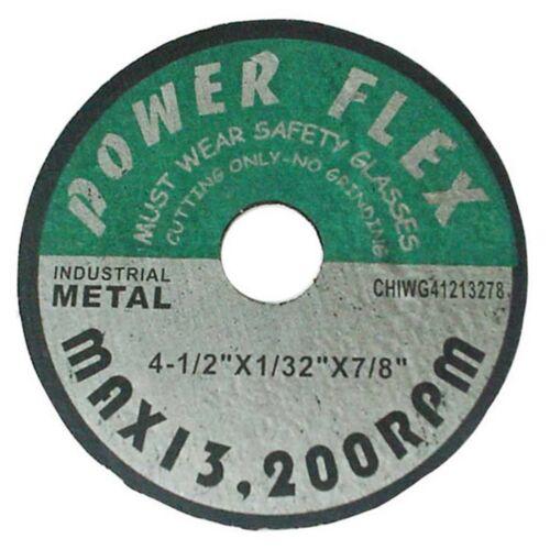 """( 100pcs )  Cut-Off Wheel 4-1/2"""" X 1/32"""" X 7/8"""""""