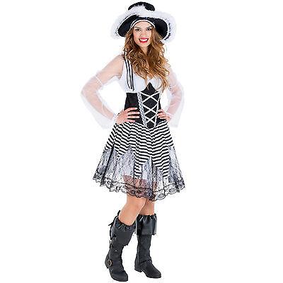 Frauenkostüm Piratenbraut Pirat Kostüm Seeräuber sexy Fasching Karneval Piratin  ()