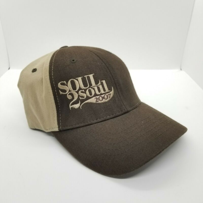 2007 Jeep Brown Tan Tim McGraw & Faith Hill Soul 2 Soul Tour One Size Hat Cap