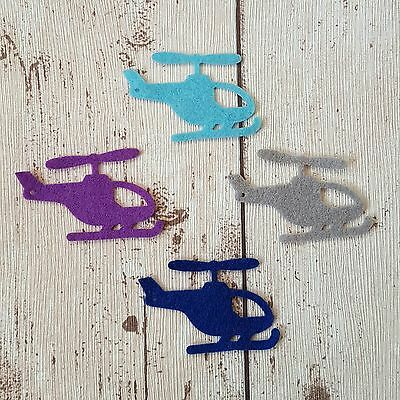 Felt Helicopters, die cut felt, helicopter, felt shapes, travel felt board