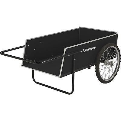 Strongway Garden Cart - 300-lb. Capacity, 7 Cu. Ft 41in.L x 23in.W
