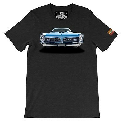 1967 GTO The Legend Classic Car Men's T-shirts American Muscle car Made in - Classic Muscle Car
