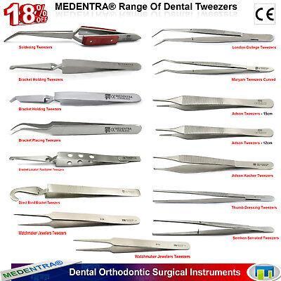 Medentra Orthodontic Surgical Veterinary Dental Tweezers Bracket Tooth Forceps