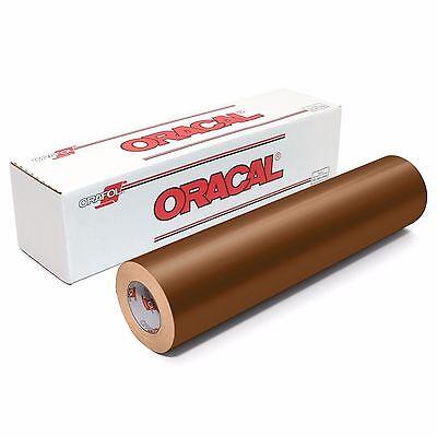 ORACAL 651 Outdoor Permanent Vinyl - COPPER 12in x 10ft Roll