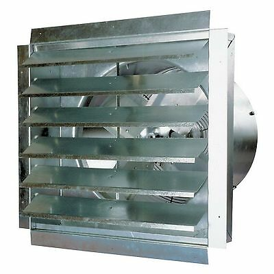 "New 18"" Industrial Exhaust Fan MaxxAir Heavy Duty Barn Greenhouse Kitchen Vent"