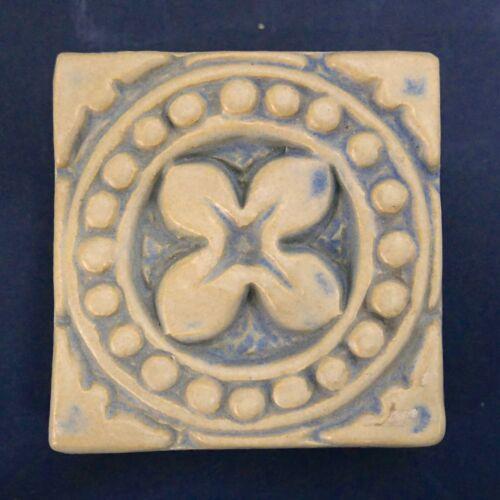 Batchelder Floral Glazed Tile California