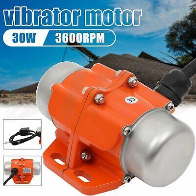 Vibrating 110v 30w Ac Vibration Motor Asynchronous Vibrator Single Phase 3600rpm